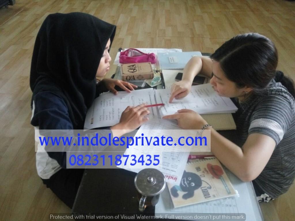 Les Bahasa Arab dengan Pengantar English.