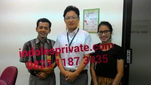 Les Bahasa Indonesia untuk orang jepang di Jakarta tangerang bekasi