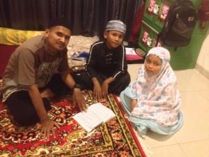 Belajar Mengaji di Jakarta Timur