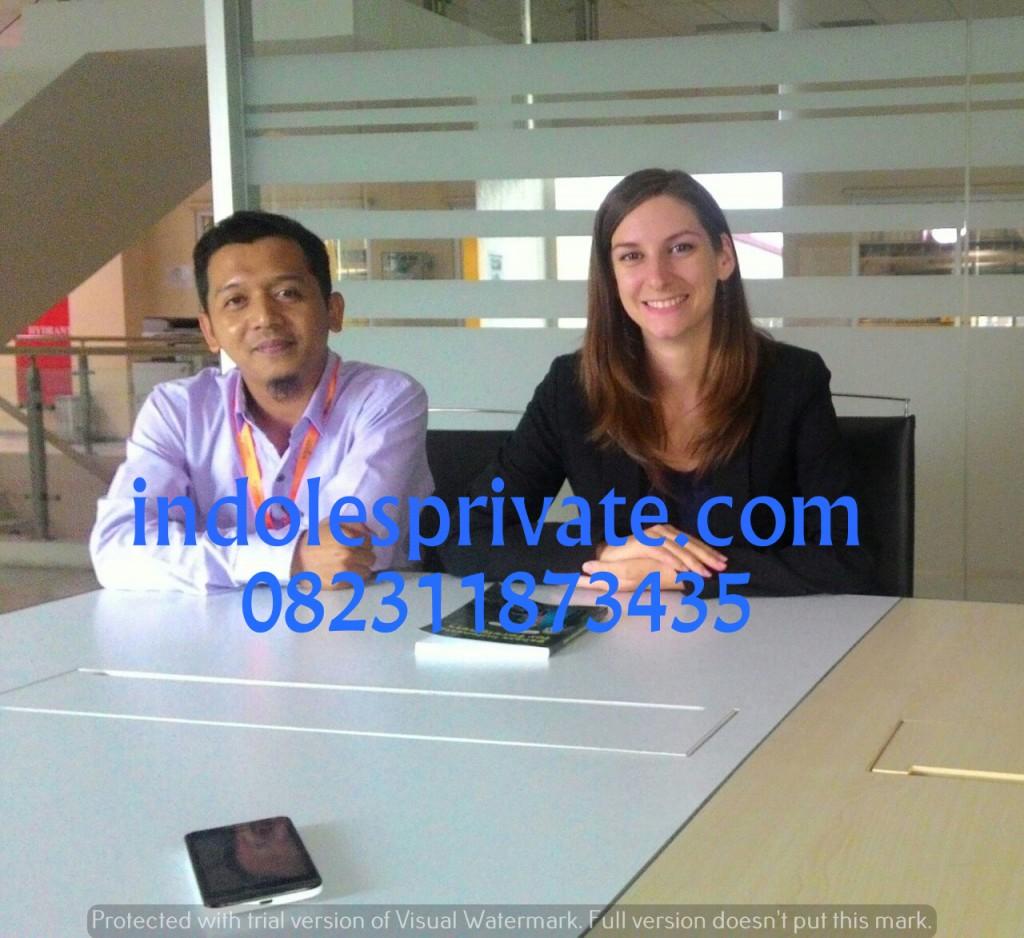 Les privat bahasa indonesia untuk expat