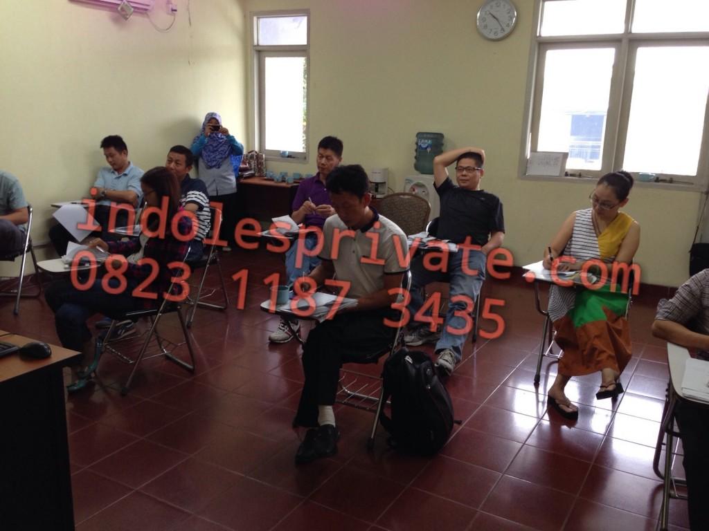 les bahasa indonesia.