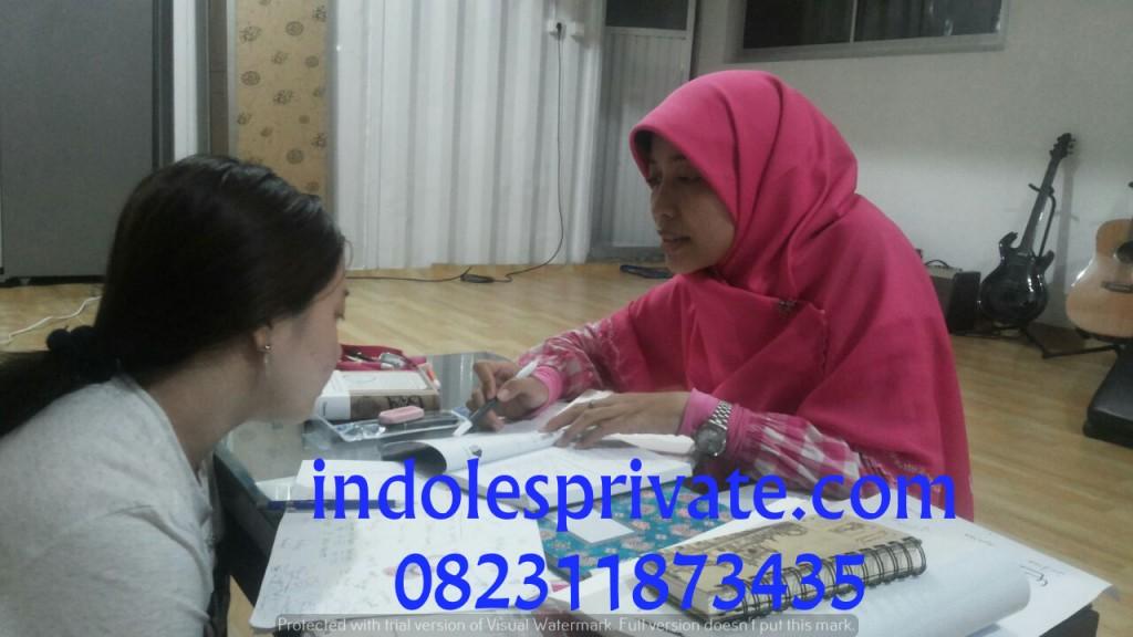 les privat bahasa indonesia untuk expat di cikarang