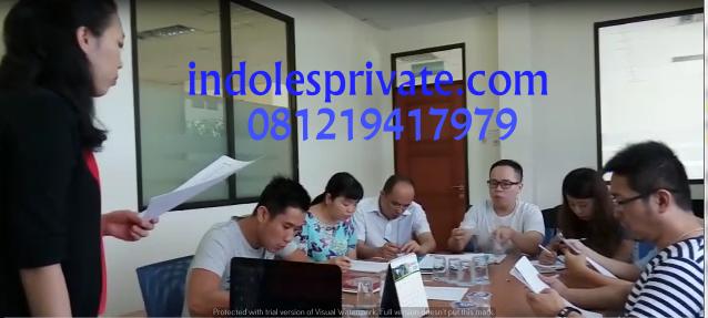 Les Privat Bahasa Indonesia Untuk Orang China Di Jakarta Selatan