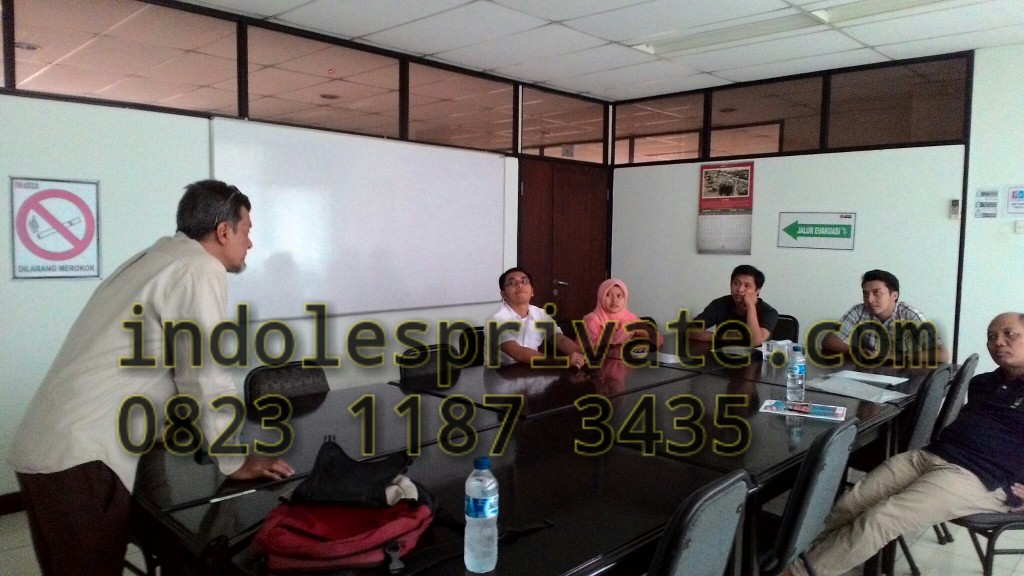 In house training bahasa inggris