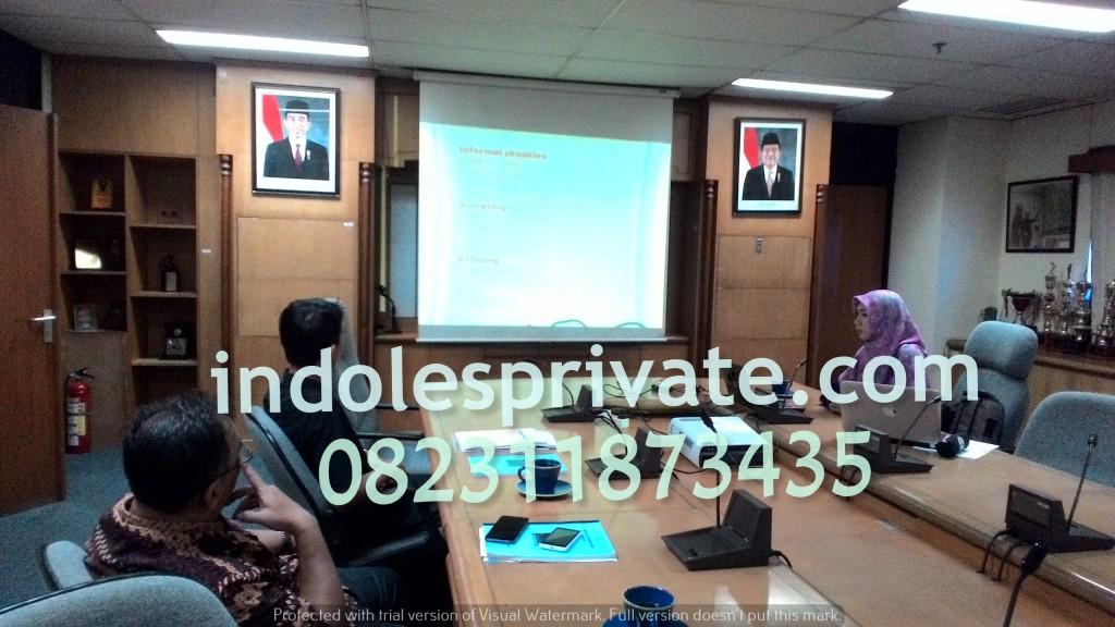 Inhouse Training Bahasa Inggris