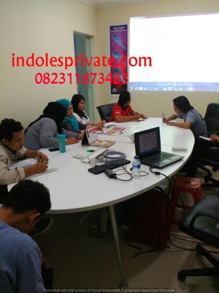 Inhouse Training Bahasa Inggris di Pasar Kemis Tangerang