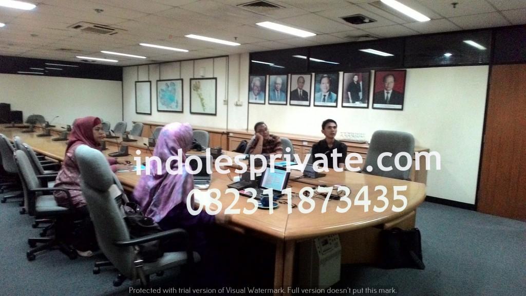 Inhouse Training Bahasa Inggris di Tangerang Selatan