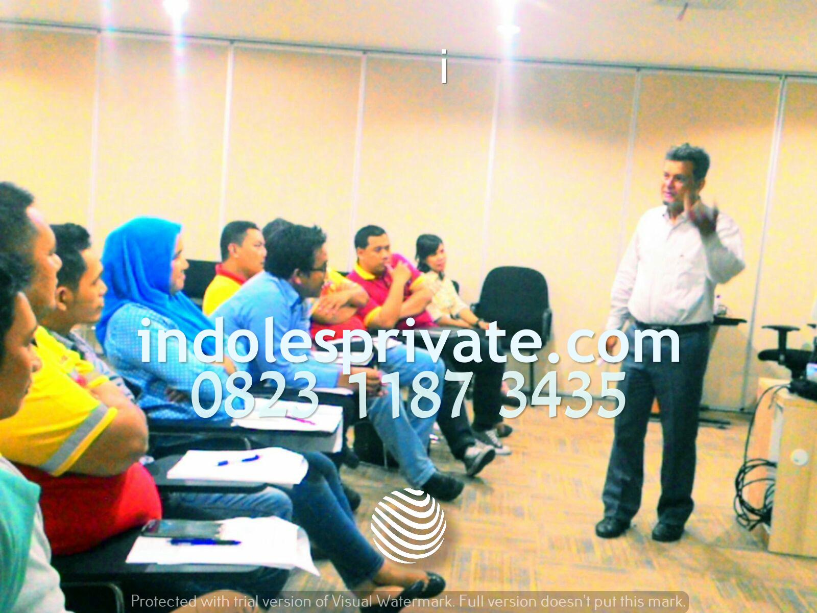 in house training bahasa ingggris