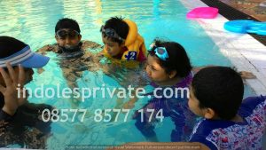 Les Renang Anak di Bogor