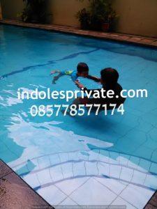 Les Renang Balita di Jakarta Utara