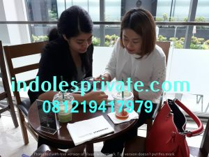 Les Privat Bahasa Indonesia Untuk Orang Asing di SCBD Jakarta Pusat