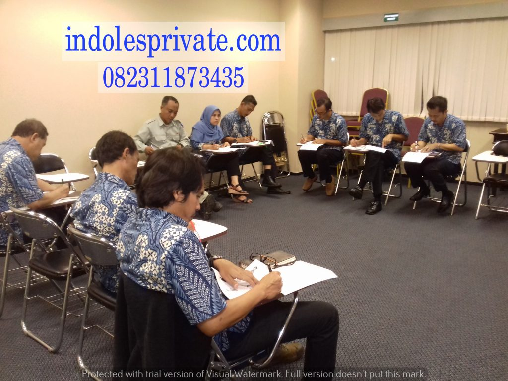 Les Privat Bahasa Inggris Untuk Karyawan Di Jati Kramat