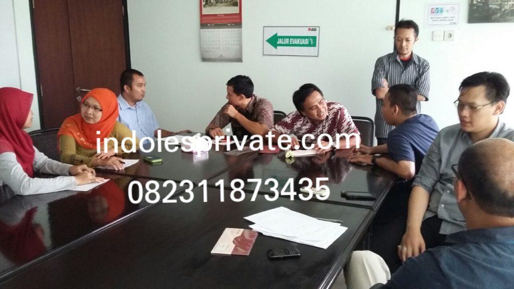 Les Privat Bahasa Inggris Untuk Karyawan Di Mustika Jaya