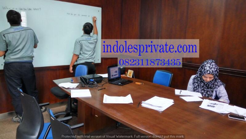 Les Privat Bahasa Inggris Untuk Karyawan Di Sumber Arta