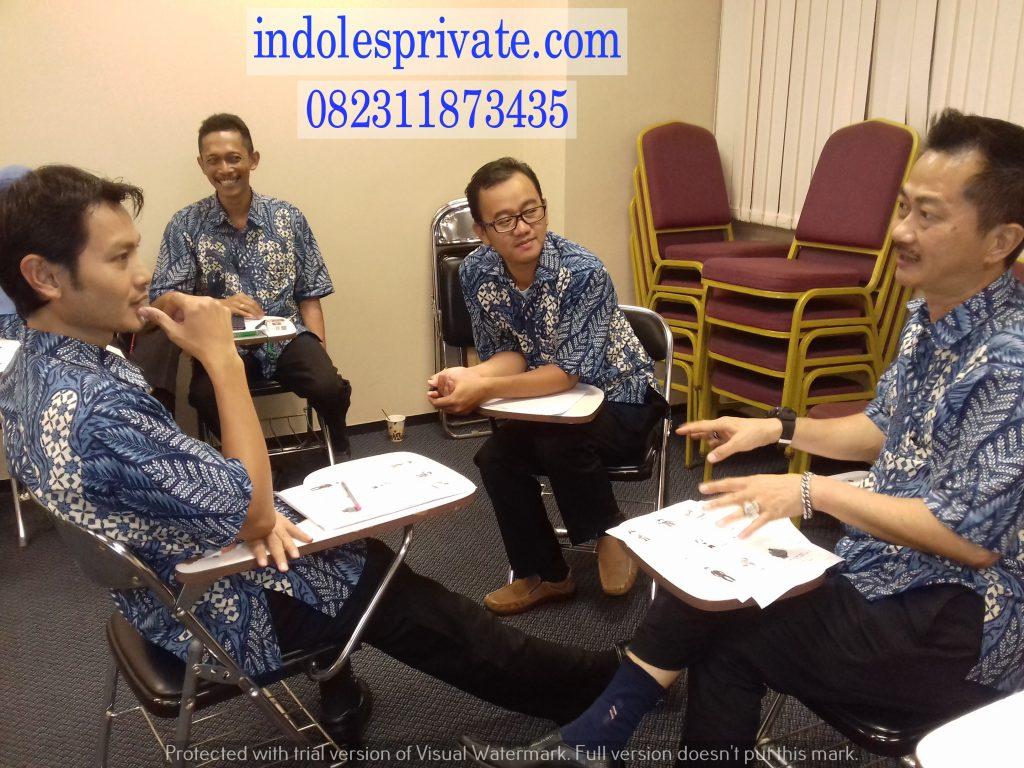 Les Privat Bahasa Inggris Untuk Karyawan Di Bogor