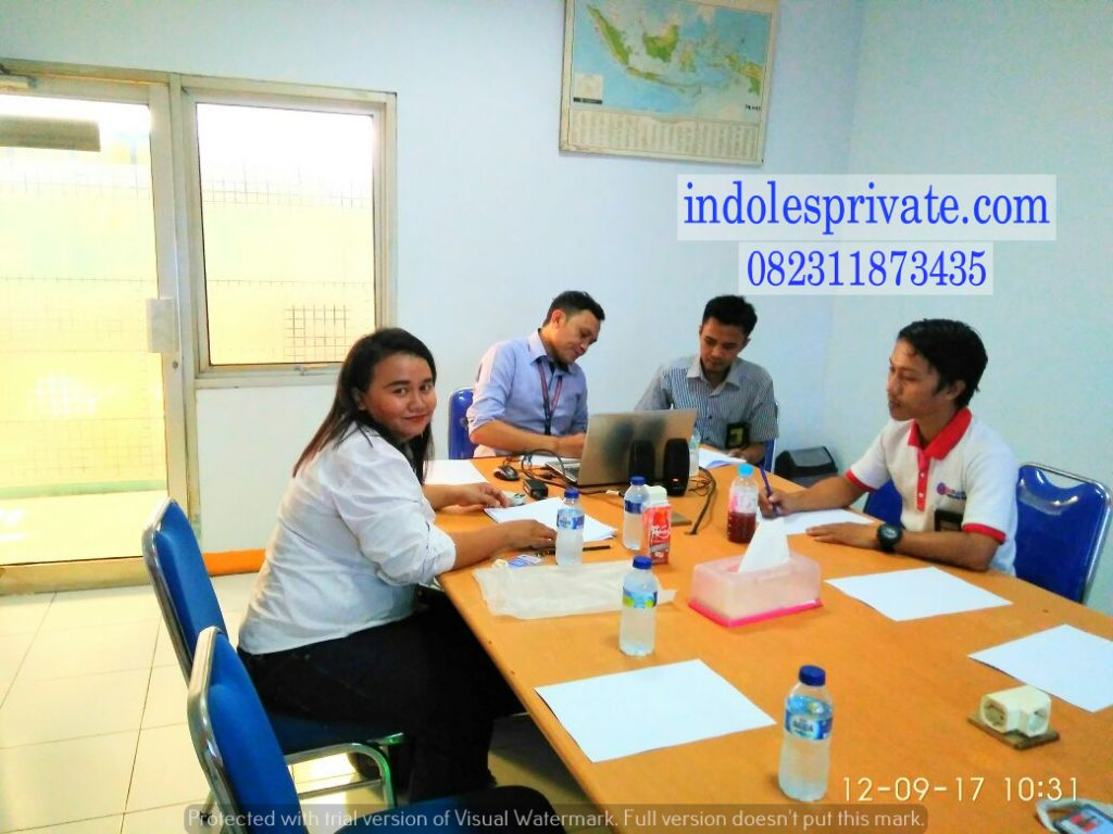 Les Privat Bahasa Inggris Untuk Karyawan Di Kranji